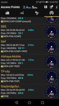 WiFi Analyzer screenshot 3