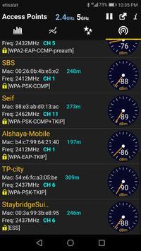 WiFi Analyzer syot layar 3