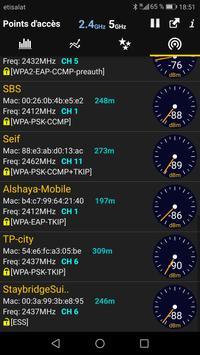 WiFi Analyzer capture d'écran 3