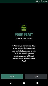 Food Feast - Online Food Delivery poster
