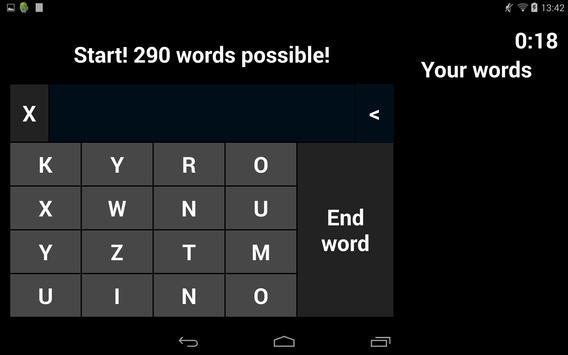 One More Word Game screenshot 1