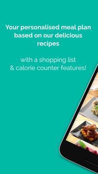 Keto Recipes, Keto Meal Plan, Carb Calorie Counter poster