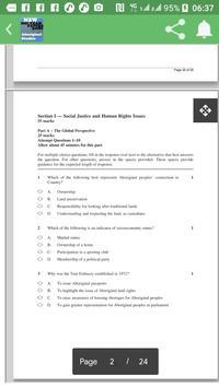 Aboriginal Studies HSC exam pack Past Papers (NSW) screenshot 1
