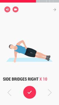 تمرين عضلات البطن - Abs Workout تصوير الشاشة 1