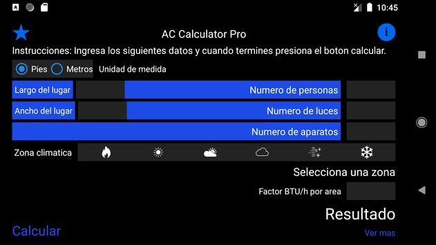 Aire acondicionado o bomba de calor captura de pantalla 1