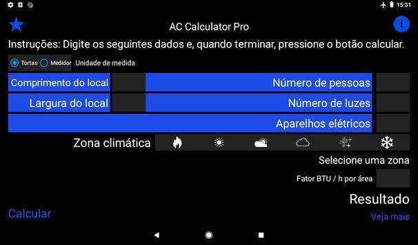 Ar condicionado ou bomba de calor imagem de tela 1