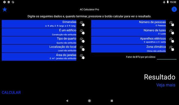 Ar condicionado ou bomba de calor imagem de tela 3
