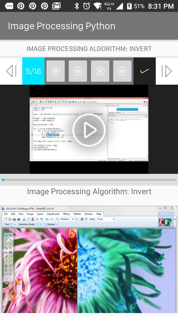 Image Processing Python for Android - APK Download