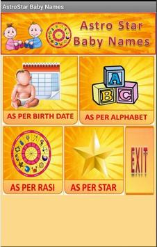 Baby Names & Birth Star poster