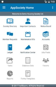 AppSociety screenshot 1