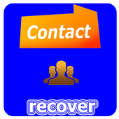 Retrieve deleted numbers icon