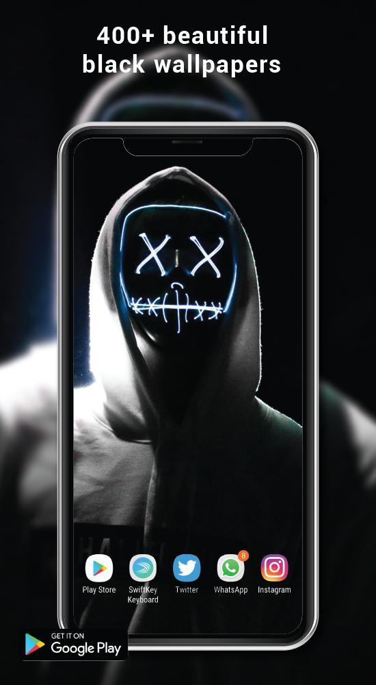 Black Wallpaper Dark Mode Backgrounds 4k Utra Hd For Android Apk