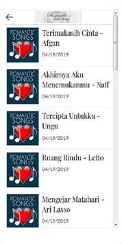 Lagu Nostalgia Romantis screenshot 1