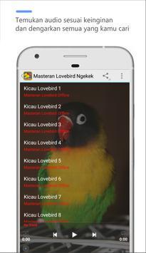 masteran loveBird ngekek panjang screenshot 1
