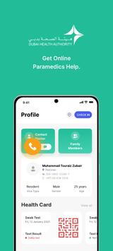 COVID19 - DXB Smart App Ekran Görüntüsü 4