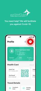 COVID19 - DXB Smart App gönderen