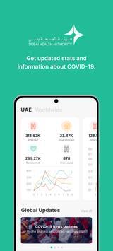 COVID19 - DXB Smart App Ekran Görüntüsü 2