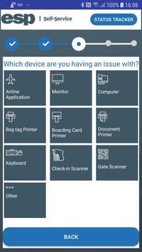 ESP Self-Service screenshot 1