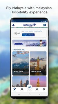 Malaysia Airlines poster