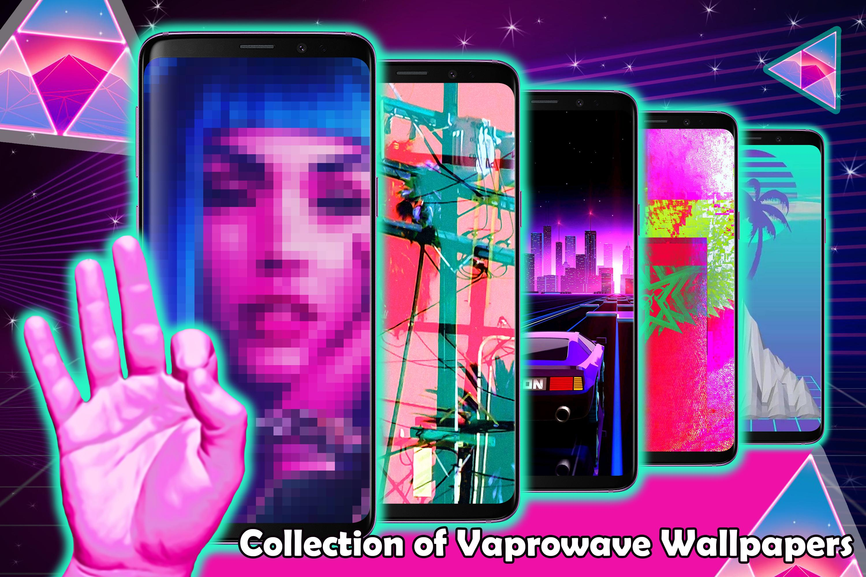 Aesthetic Backgrounds Vaporwave Live Wallpapers For Android