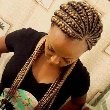 African Braid Hairstyles Cartaz