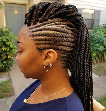African Braid Hairstyles imagem de tela 1