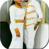 African Couple Outfits ícone