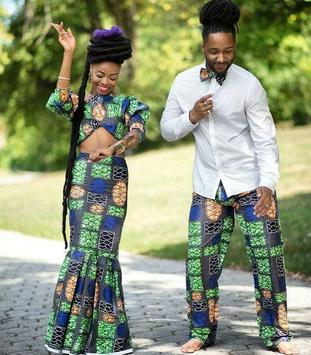 African Couple Outfits screenshot 2