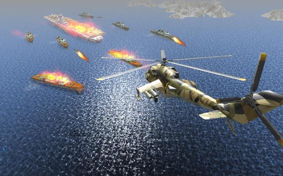 Helicopter Simulator 3D Gunship Battle Air Attack screenshot 5