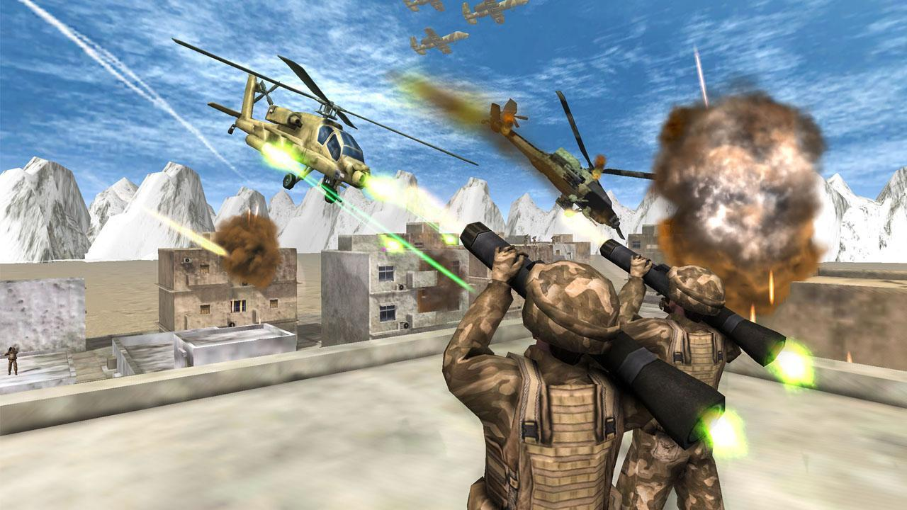 Helicopter Simulator 3D Gunship Battle Air Attack for