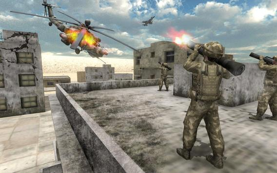 Helicopter Simulator 3D Gunship Battle Air Attack screenshot 1