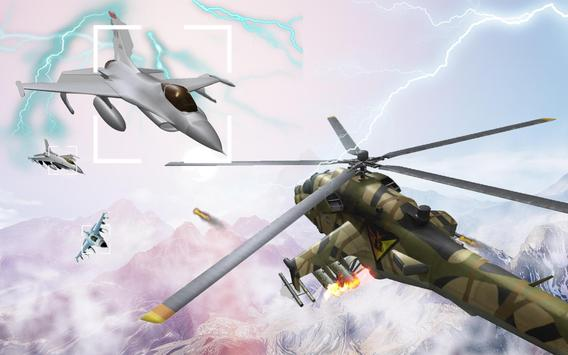 Helicopter Simulator 3D Gunship Battle Air Attack screenshot 2