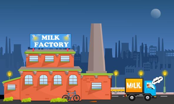 Milk Van Escape screenshot 1