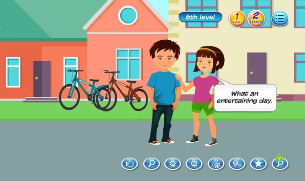 E-learning English Program Level 7 Unit 1 Screenshot 1