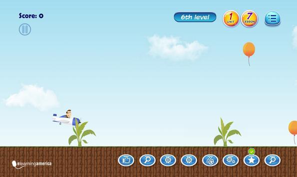 E-learning English Program Level 7 Unit 1 Screenshot 2