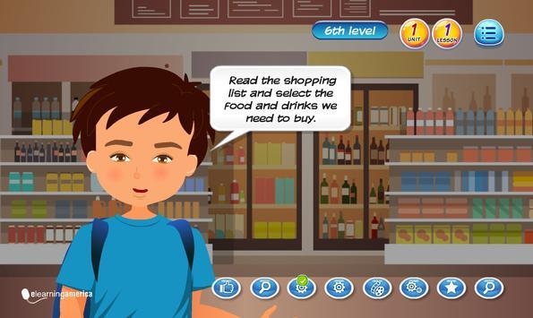 E-learning English Program Level 7 Unit 1 Screenshot 3
