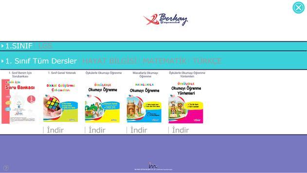 Berkay Yayınları Mobil Kütüphane Uygulama screenshot 1