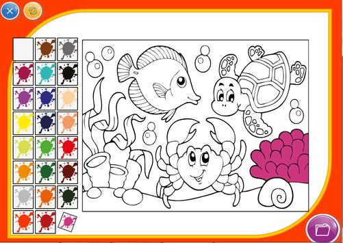 Cartoon Coloring Game screenshot 2