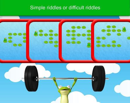 Frog - Logic Puzzles screenshot 1