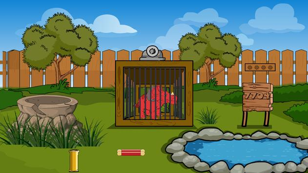 Baby Dinosaurs Escape From Cage screenshot 3