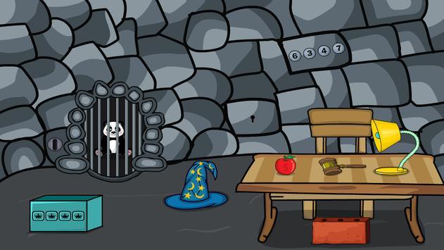 Hungry Baby Panda Escape screenshot 3