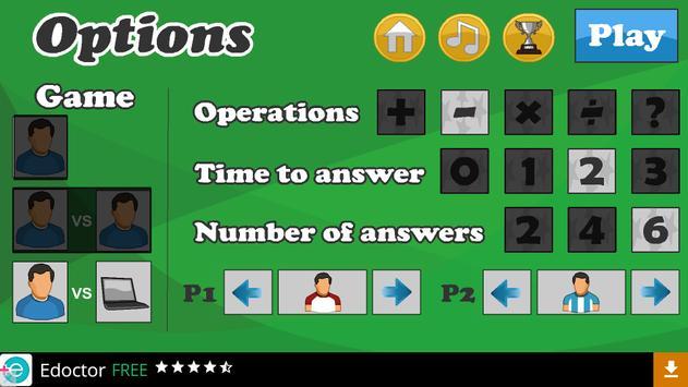 Math football screenshot 3