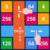 2048 Rows and Columns: Drag n Merge Numbers icon