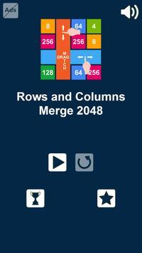 2048 Rows and Columns: Drag n Merge Numbers screenshot 3