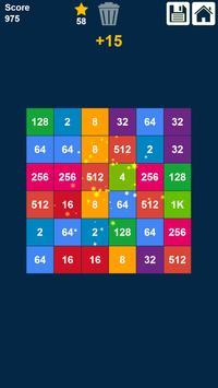 2048 Rows and Columns: Drag n Merge Numbers screenshot 17