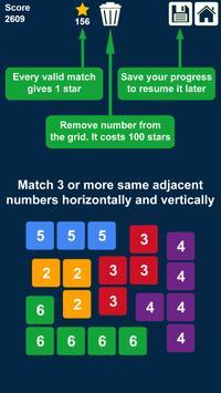 2048 Rows and Columns: Drag n Merge Numbers screenshot 2
