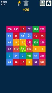 2048 Rows and Columns: Drag n Merge Numbers screenshot 5