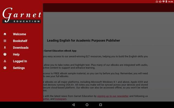 Garnet Education eBooks screenshot 1