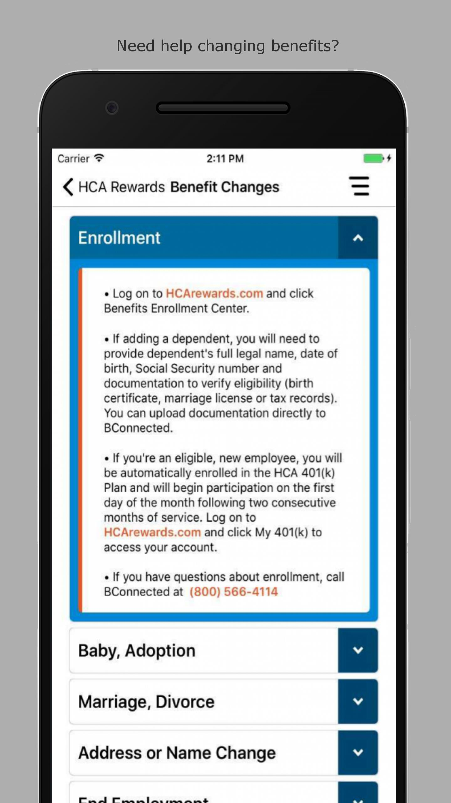 HCA Rewards for Android - APK Download