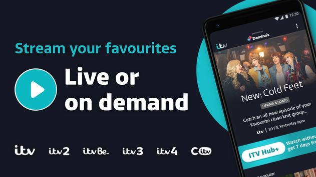 ITV Hub الملصق